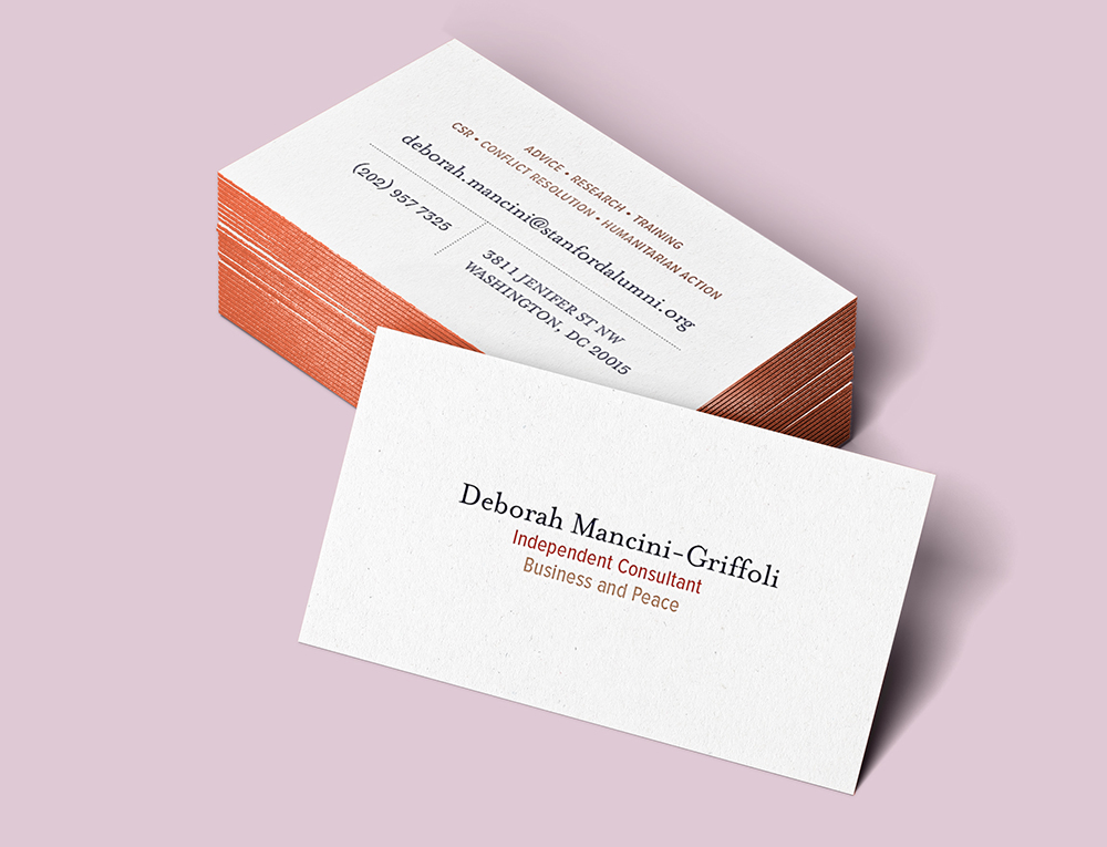DMG Business Cards